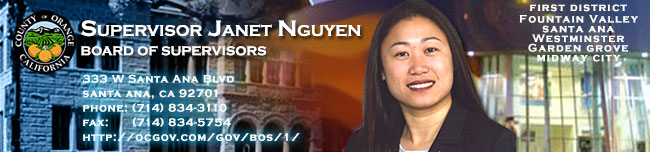 Header Image of Supervisor Janet Nguyen