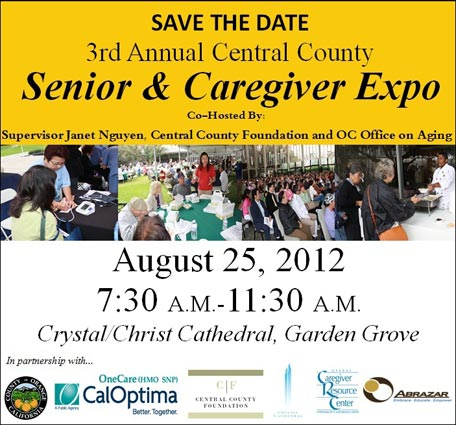 August 25, 2012 - 3rd Annual Central County Senior & Caregiver Expo