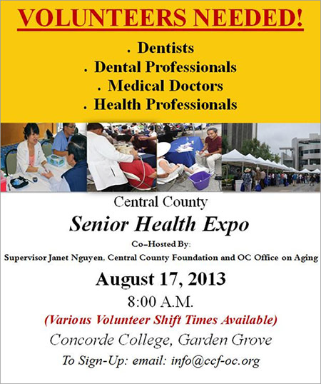 Central County Senior Health Expo