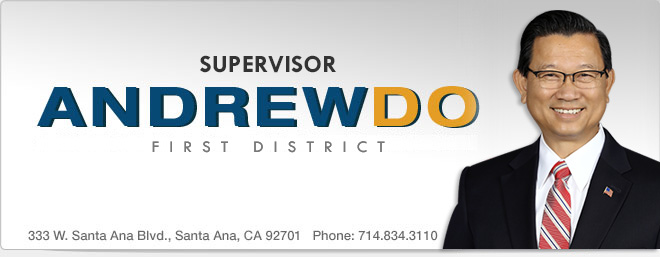 Andrew Do - Supervisor, First District