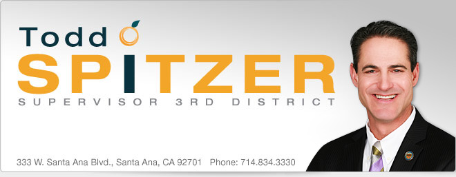 Todd Spitzer - Supervisor Third District