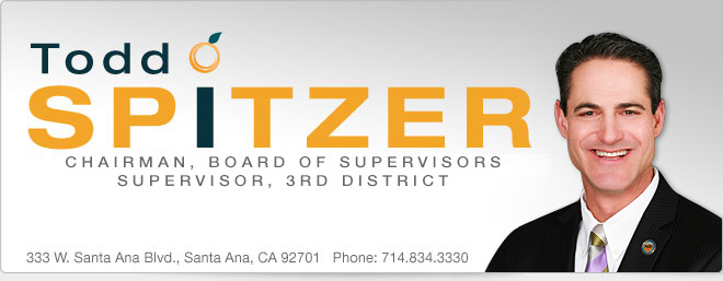 Todd Spitzer - Vice Chairman, Board of Supervisors, Supervisor, Third District