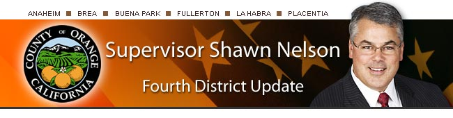 Supervisor Shawn Nelson - Fourth District Update