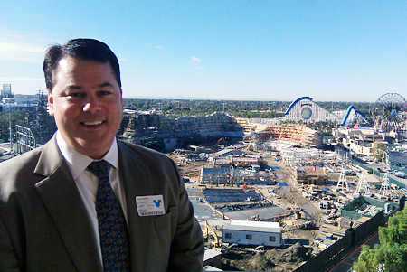 Supervisor Shawn Nelson visiting Disneyland