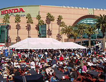 �We Give Thanks� Community Thanksgiving Dinner. Coordinated by Kent French of the Anaheim Ducks/Honda Center