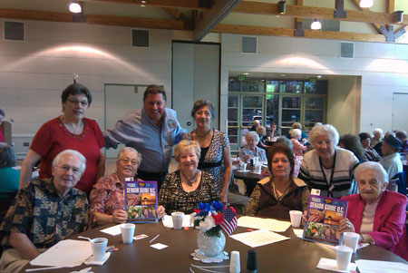 Steve Spernak with the Anaheim Seniors Club.