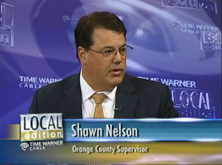Supervisor Nelson on time and Warner