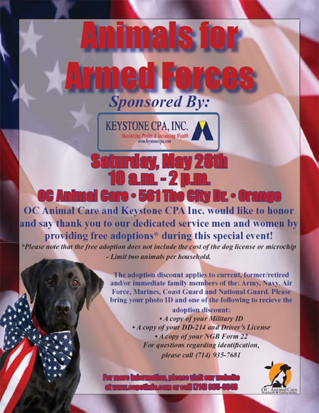 Animals for Armed Forces