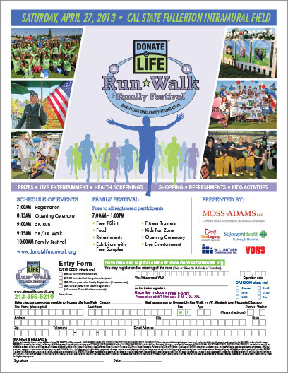 Donate Life Flyer